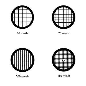 Cu材质方孔TEM铜网50目至600目100个/盒